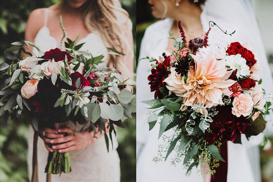 Как выбрать оригинальные цветы на свадьбу?