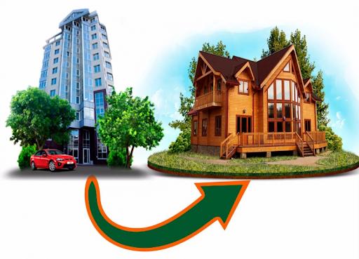 Обмен квартиры на частный дом вашей мечты