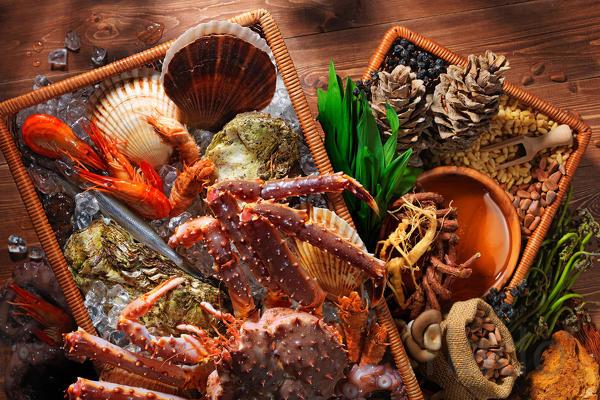 Вкуснейшие морепродукты и деликатесы