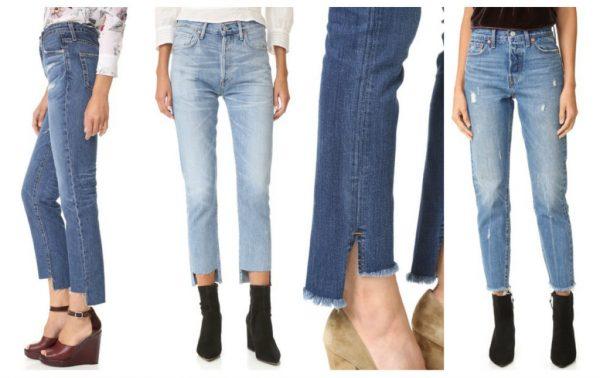 Как укоротить длинные джинсы дома