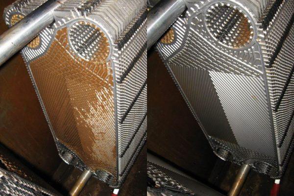 Разборная промывка пластинчатого теплообменника по выгодной цене