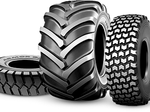 Индустриальные шины: особенности, отличия от строительных